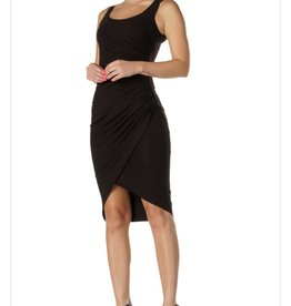 Elan Elan Tank Dress with Ruched Side