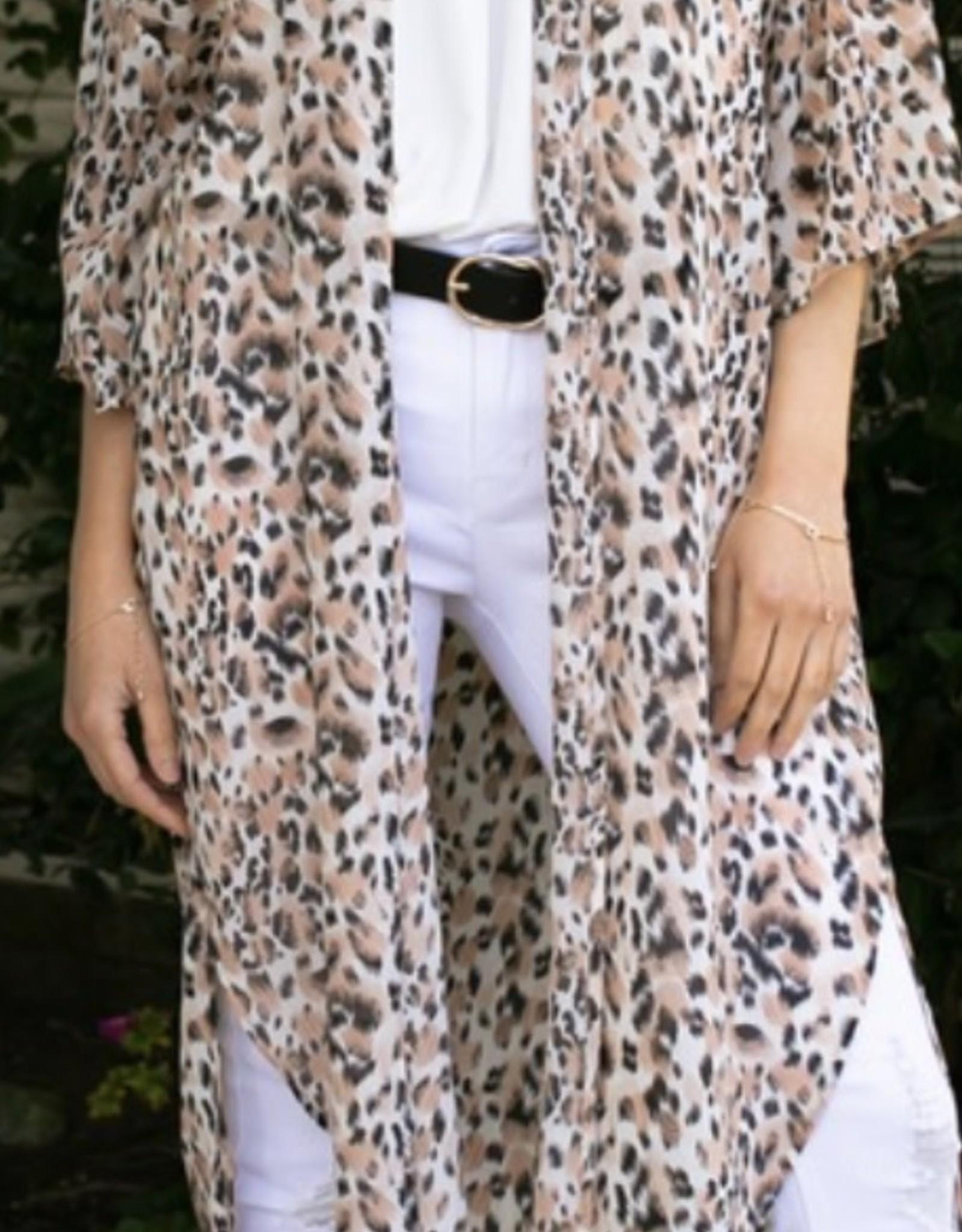 Ninexis 3/4 Sleeve Kimono
