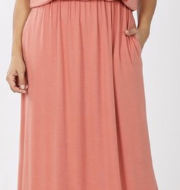Zenana Layer Top Maxi Dress