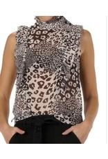 Elan Elan Leopard Top