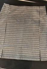Double Zero Checkered Mini Skirt