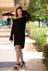 Veronica M Off The Shoulder Smocked Neck Dress