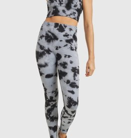 Mono B Smokescreen Tie Dye Ribbed Seamless Highwaist Legging