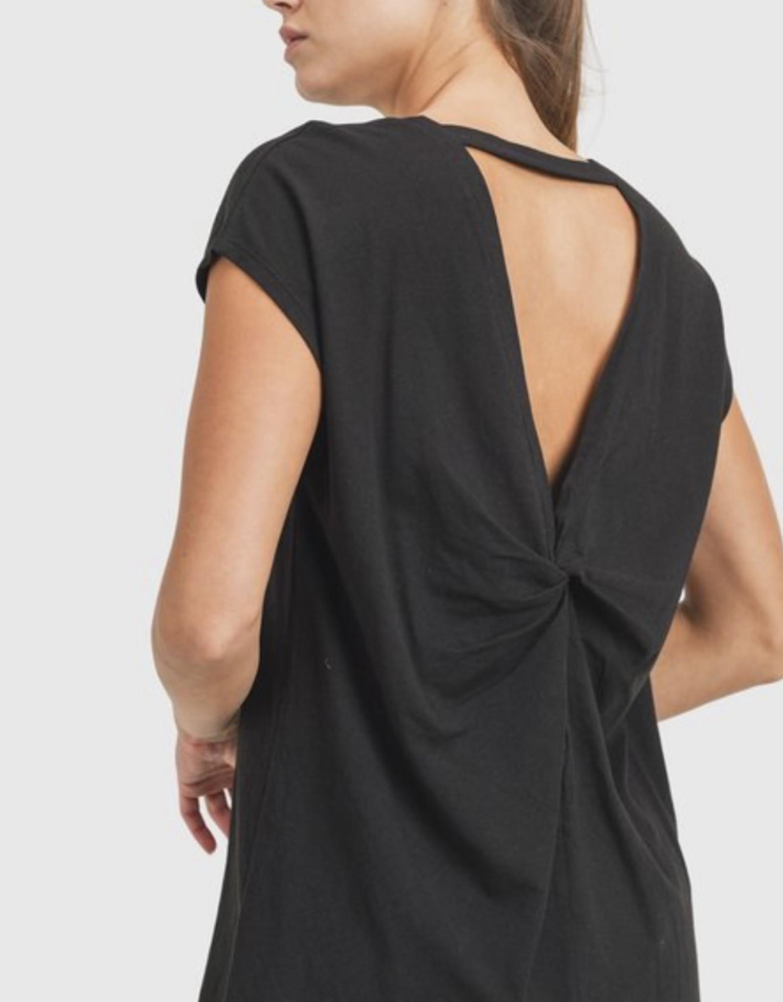 Mono B Butterfly Effect Overlay Back Top
