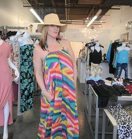 Elan Elan Kindallina Maxi Dress with Pockets