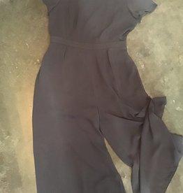 Naked Zebra NZ Short Sleeve Gaucho Jumpsuit