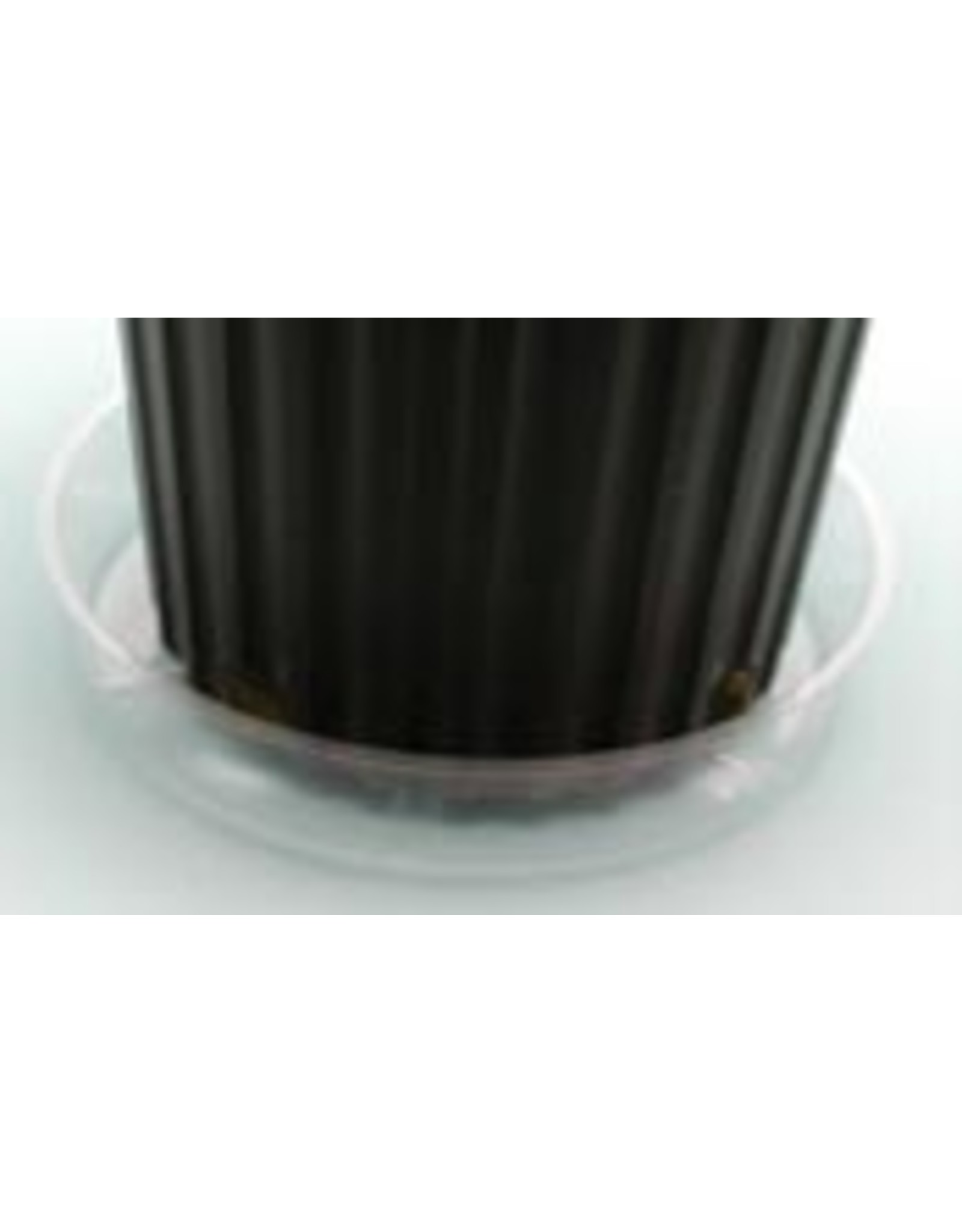 """Clear Plastic  Saucer - 8"""""""