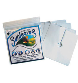 "Block Covers 6"" Pack/40"