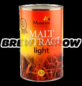 Muntons Light 3.3 lb Tin