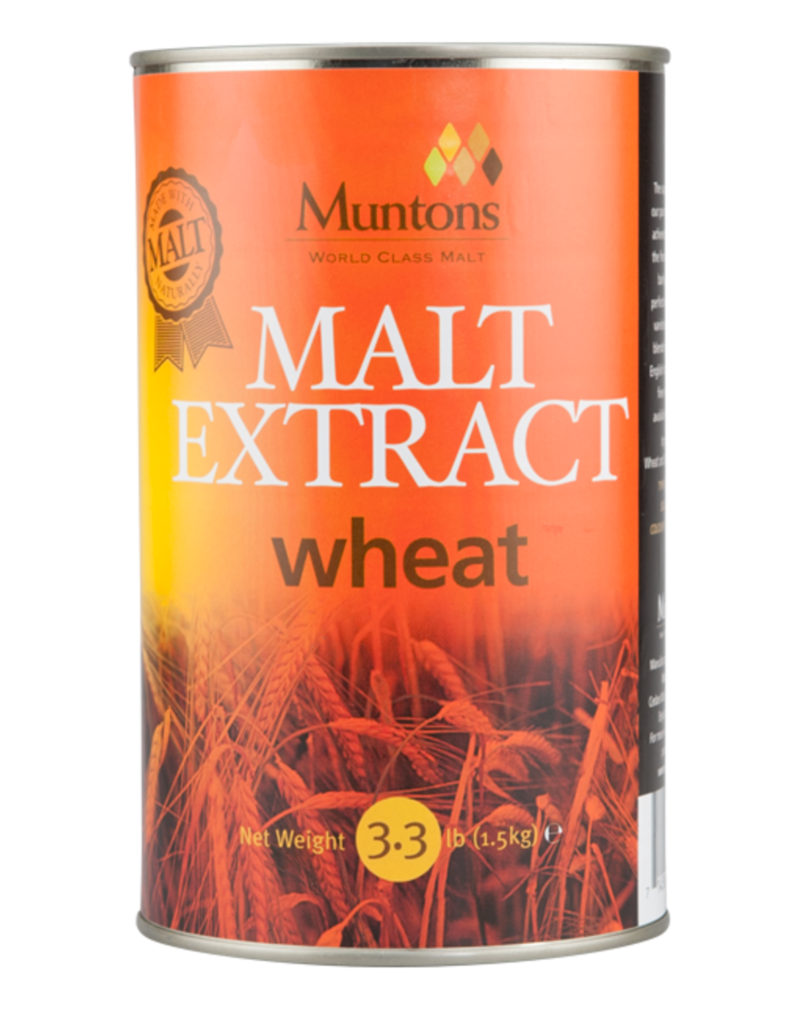 Brewer's Best Wheat Liquid Malt Extract 3.3 lb Tin