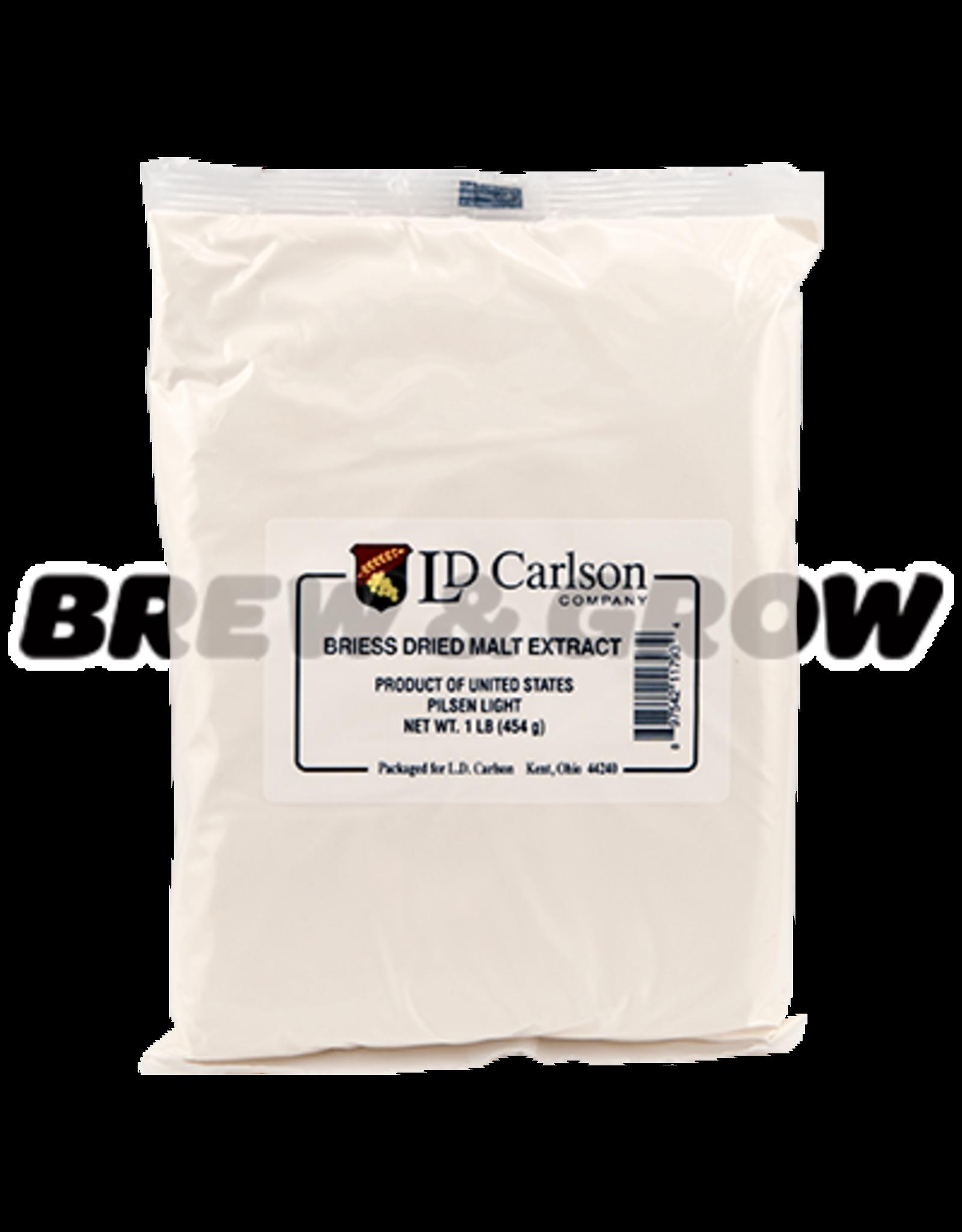 Briess Pilsen Light Dry Malt 1 Lb Bag