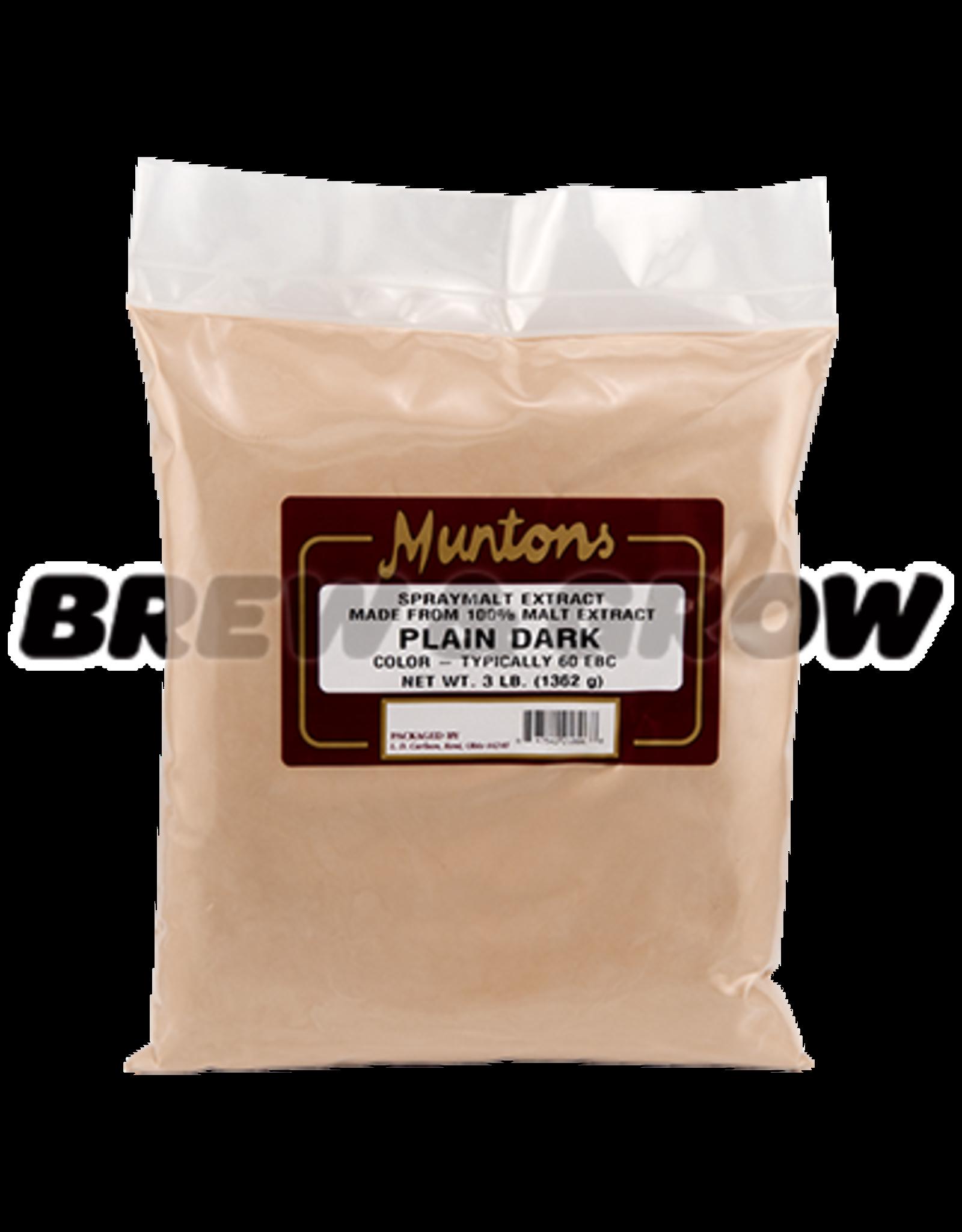 Muntons Dark 3 lb Dry Malt Extract