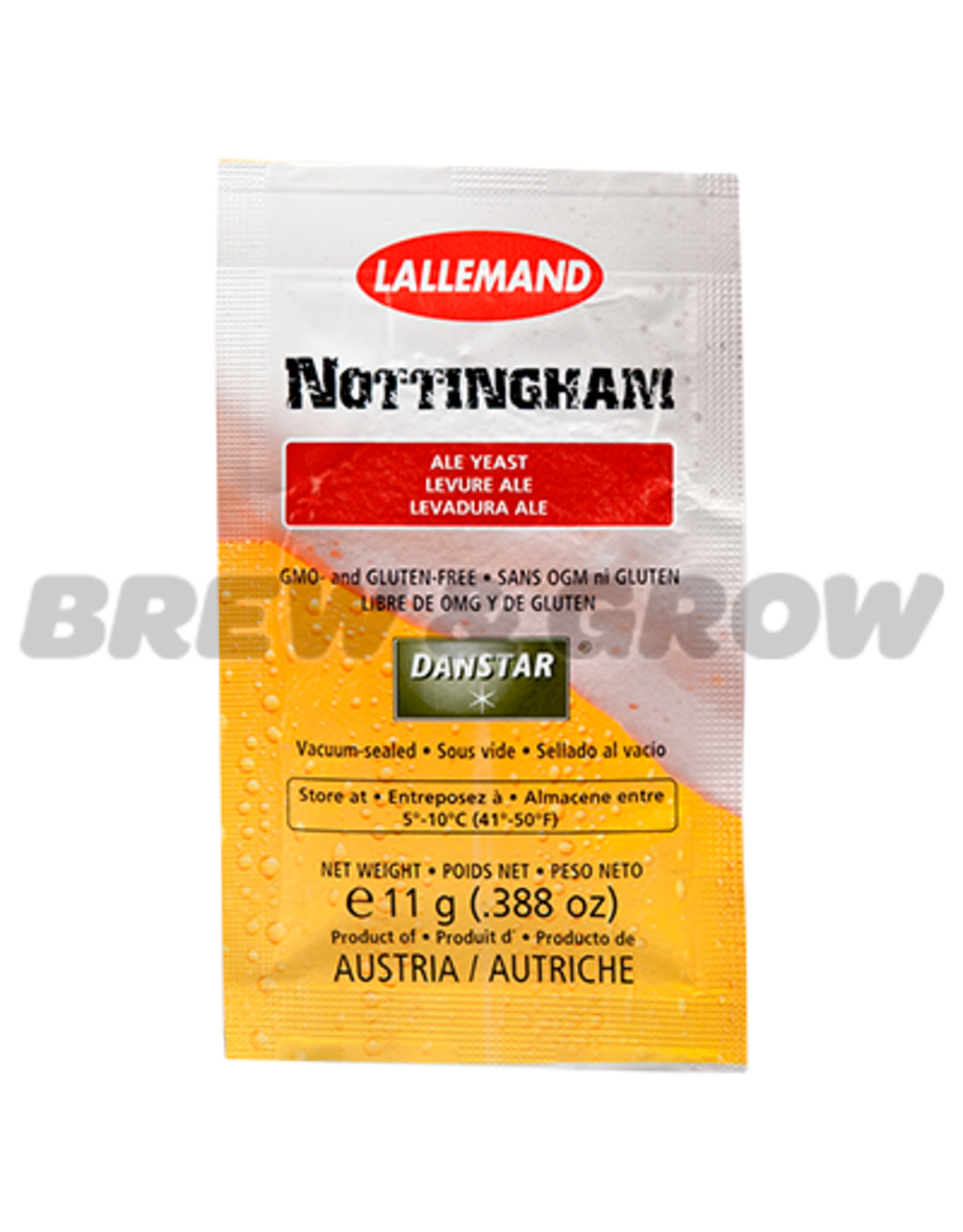 Lallemand Nottingham Ale Yeast 11g