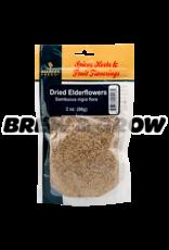 Flavoring - Dried Elderflowers 2 oz