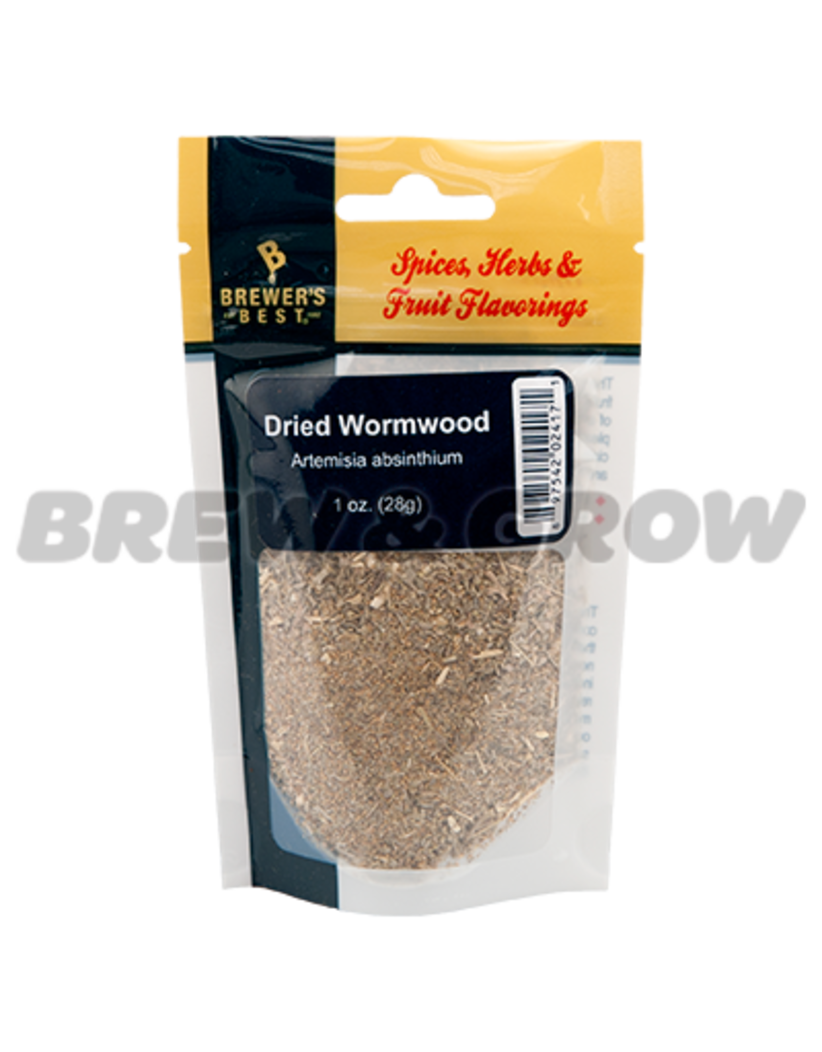 Flavoring - Dried Wormwood 1 oz