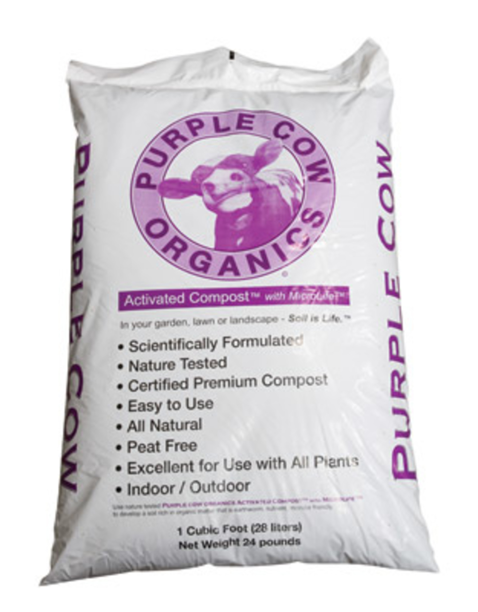 Purple Cow Organics Activated Compost 1 cu ft Bag