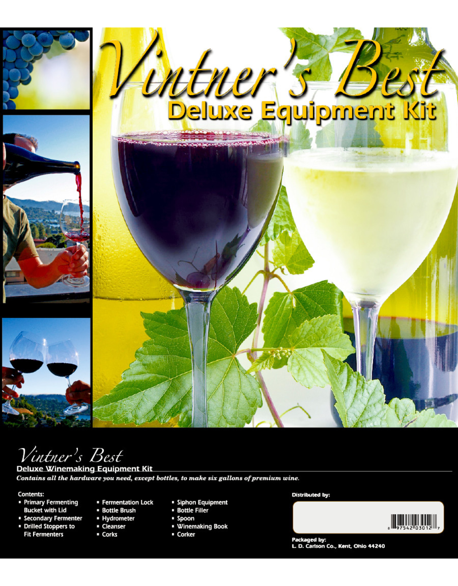 Vintners Best Vintner's Best Deluxe Wine Making Kit
