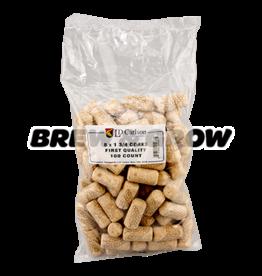 Corks 8 X 1 3/4 (100 Per Bag)