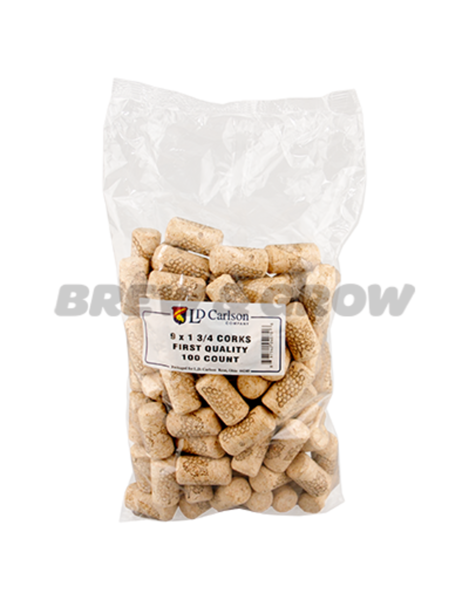 Corks 9 X 1 3/4 (100 Per Bag)