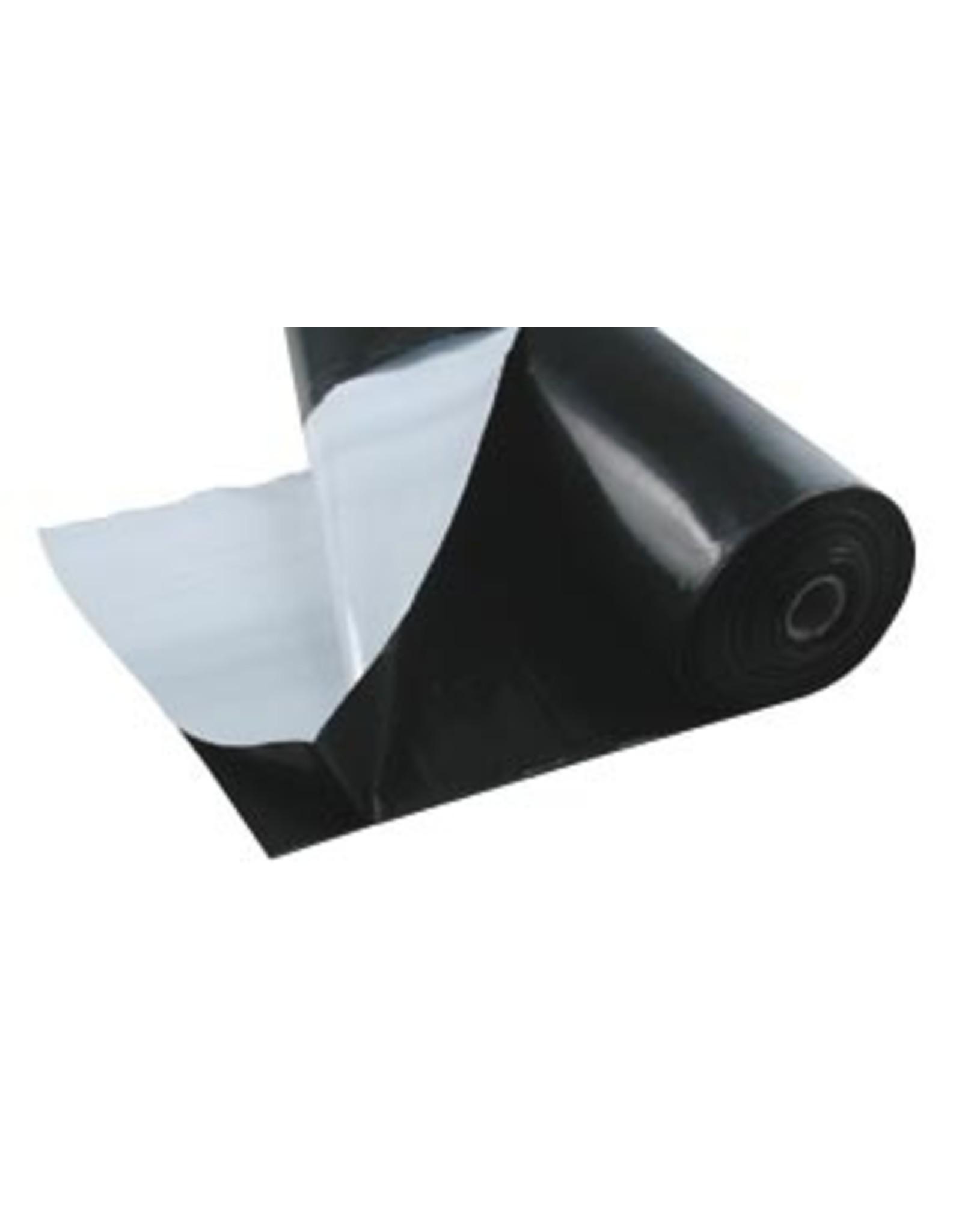 Black & White Plastic 10' X 10' Sheet