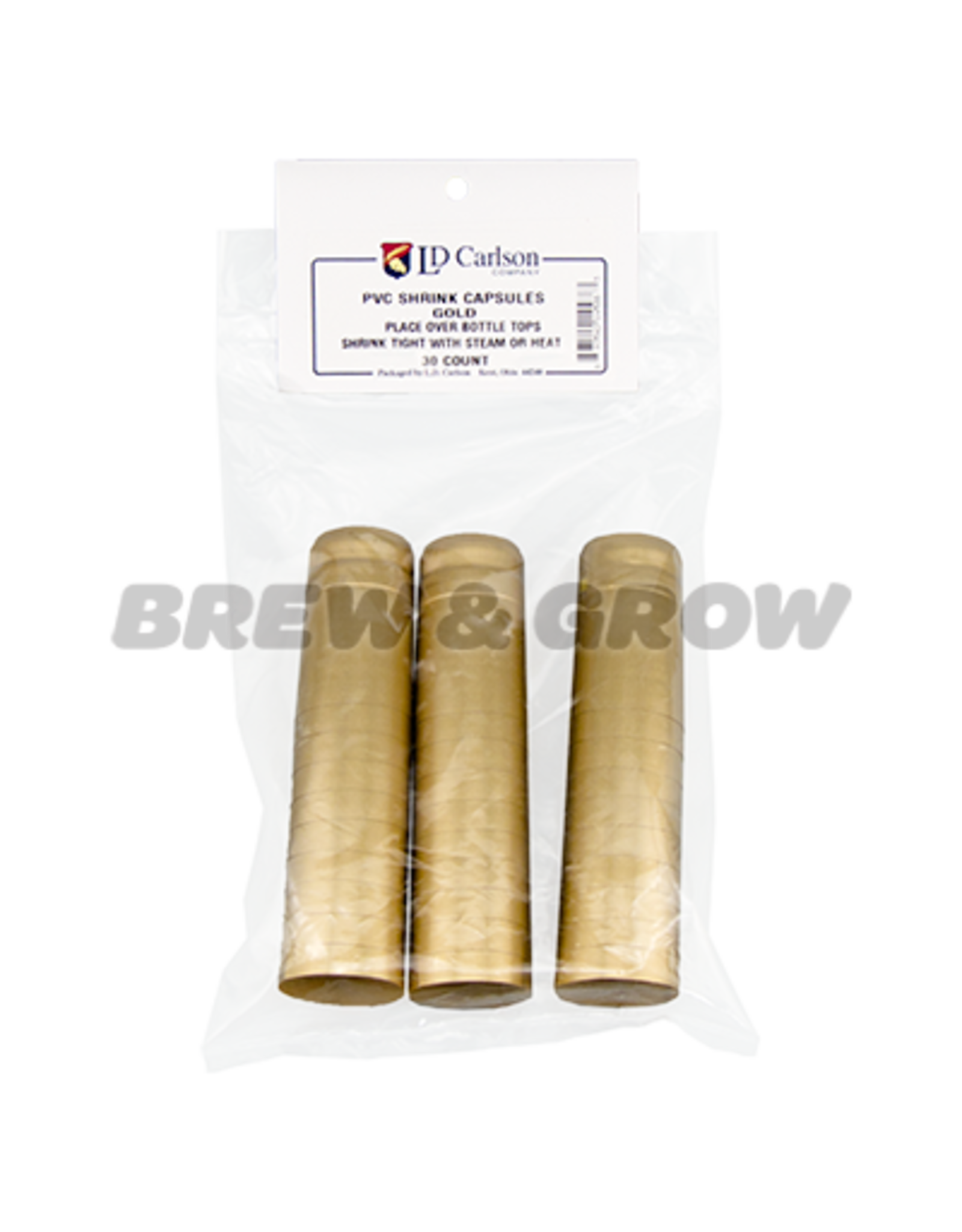 Shrink Capsule Gold Bag/30