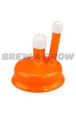 Carboy Cap - Universal 3-6 Gal Orange