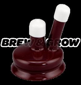 Carboy Cap - 6.5 Gal Burgundy or Blue