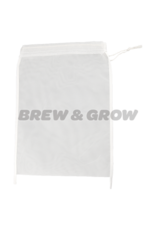 Bag - Nylon Grain w/Drawstring 8 1/2'' x 9 1/2''