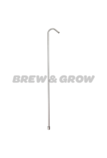 """Racking Cane 30"""" Stainless Steel W/ Tip"""