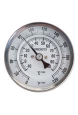 "Thermometer - 4"" Probe 1/2"" NPT"