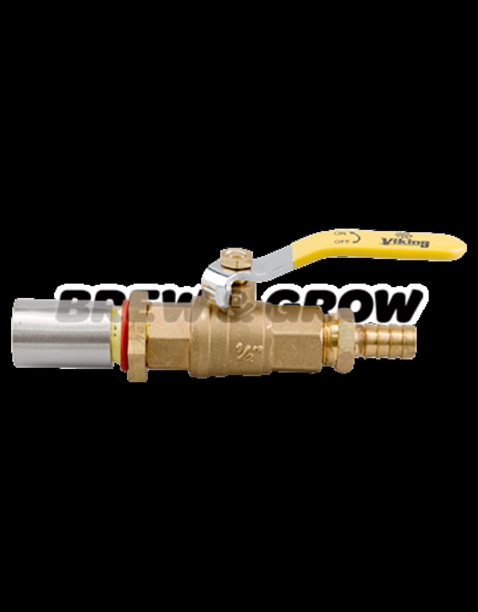 Kettle Conversion Kit - Basic Brass