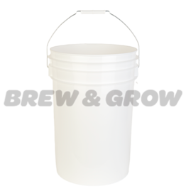 Bucket No Hole 6 Gal (White)