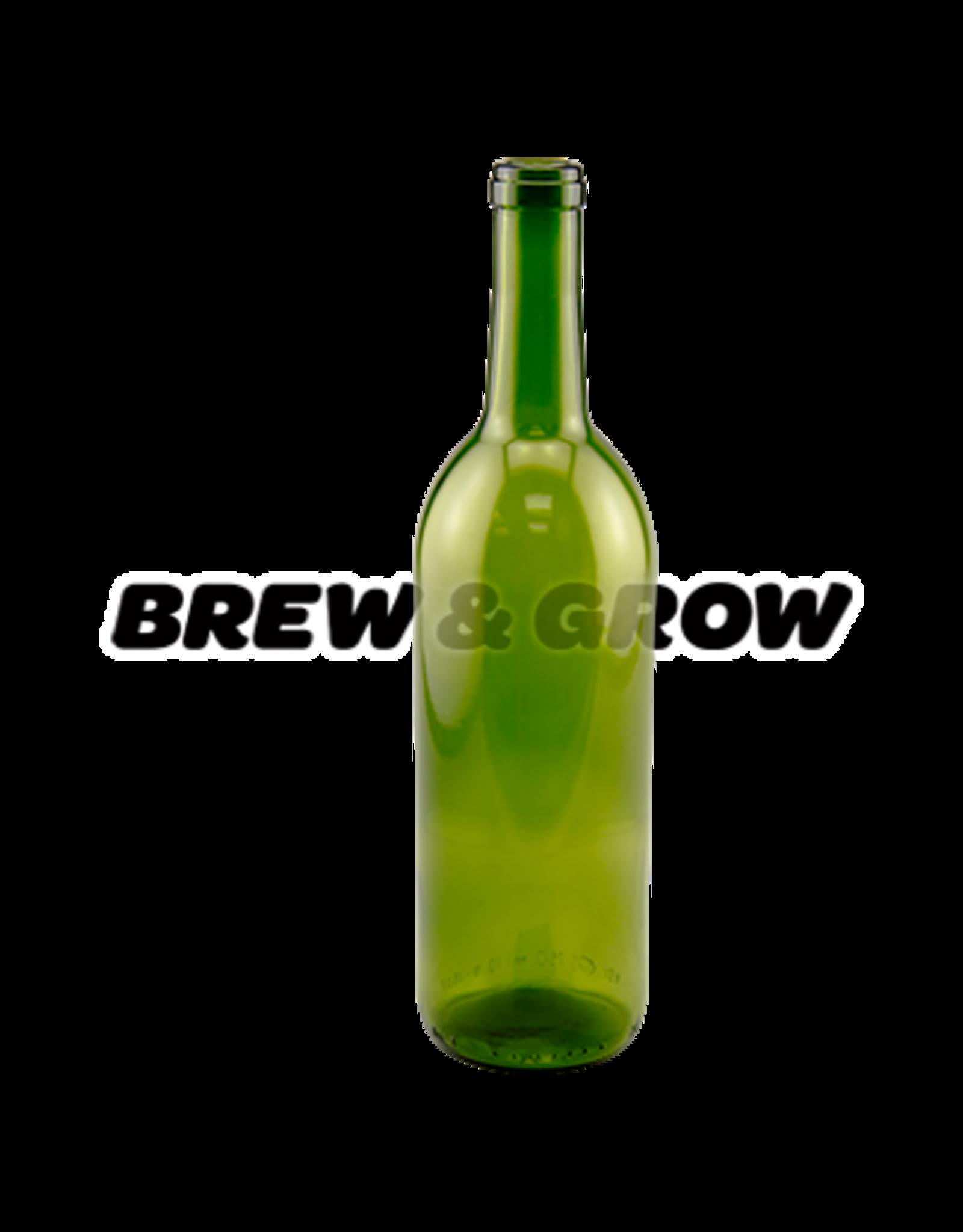Wine Bottle Green Optima 750mL (12)