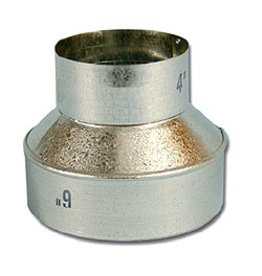"""Duct Reducer 10"""" To 8"""