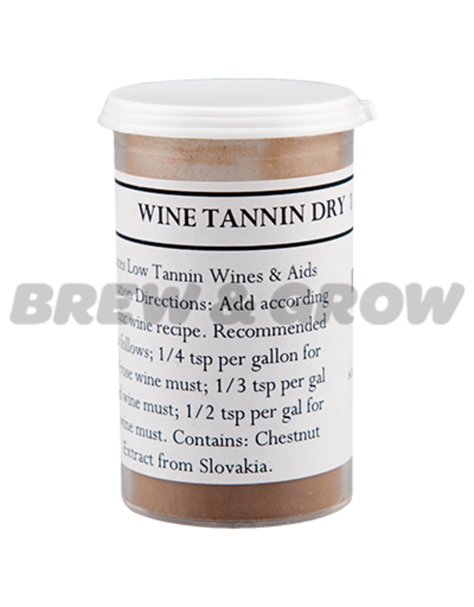 Wine Tannin Dry  1 oz