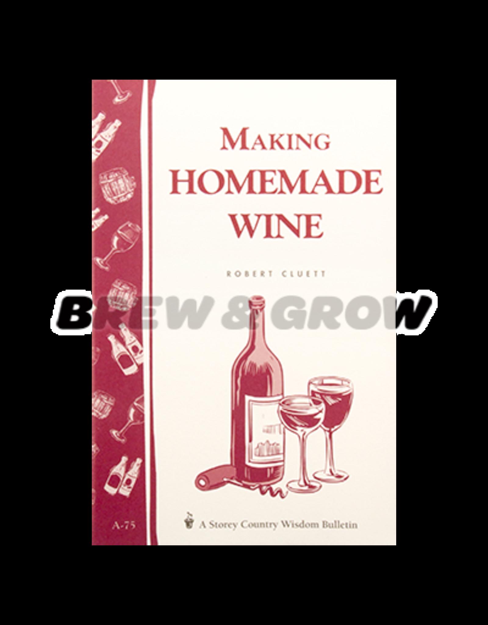 Making Homemade Wine (Storey Publishing)