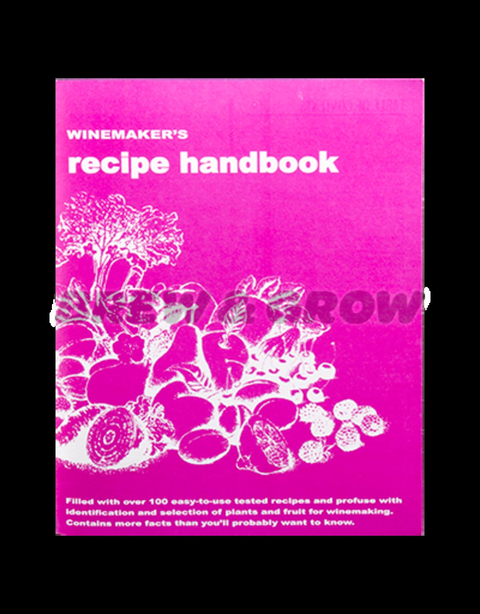 Winemakers Recipe Handbook (Massaccesi)