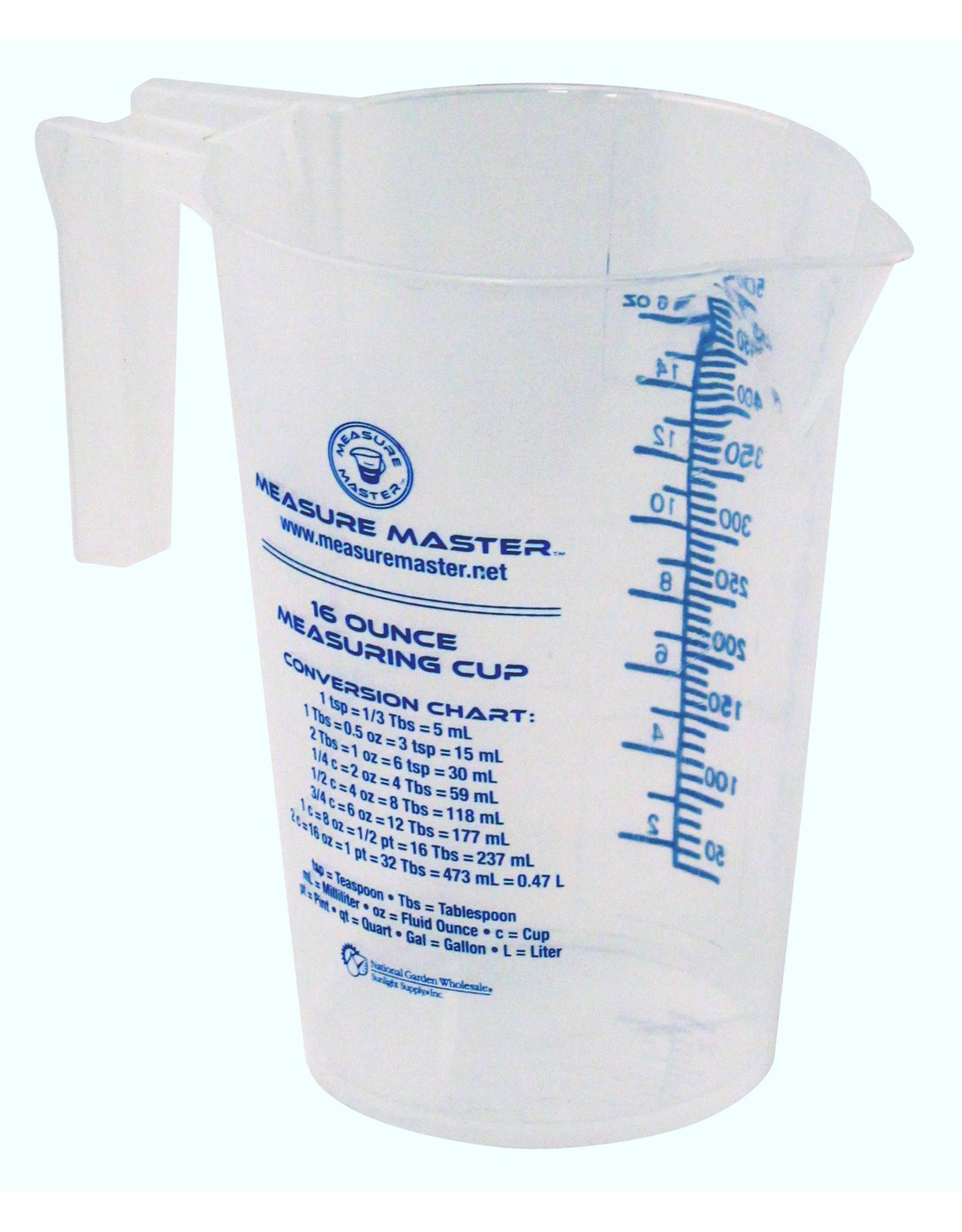 Measure Master Graduated Round Measuring Container 16 oz / 500 ml