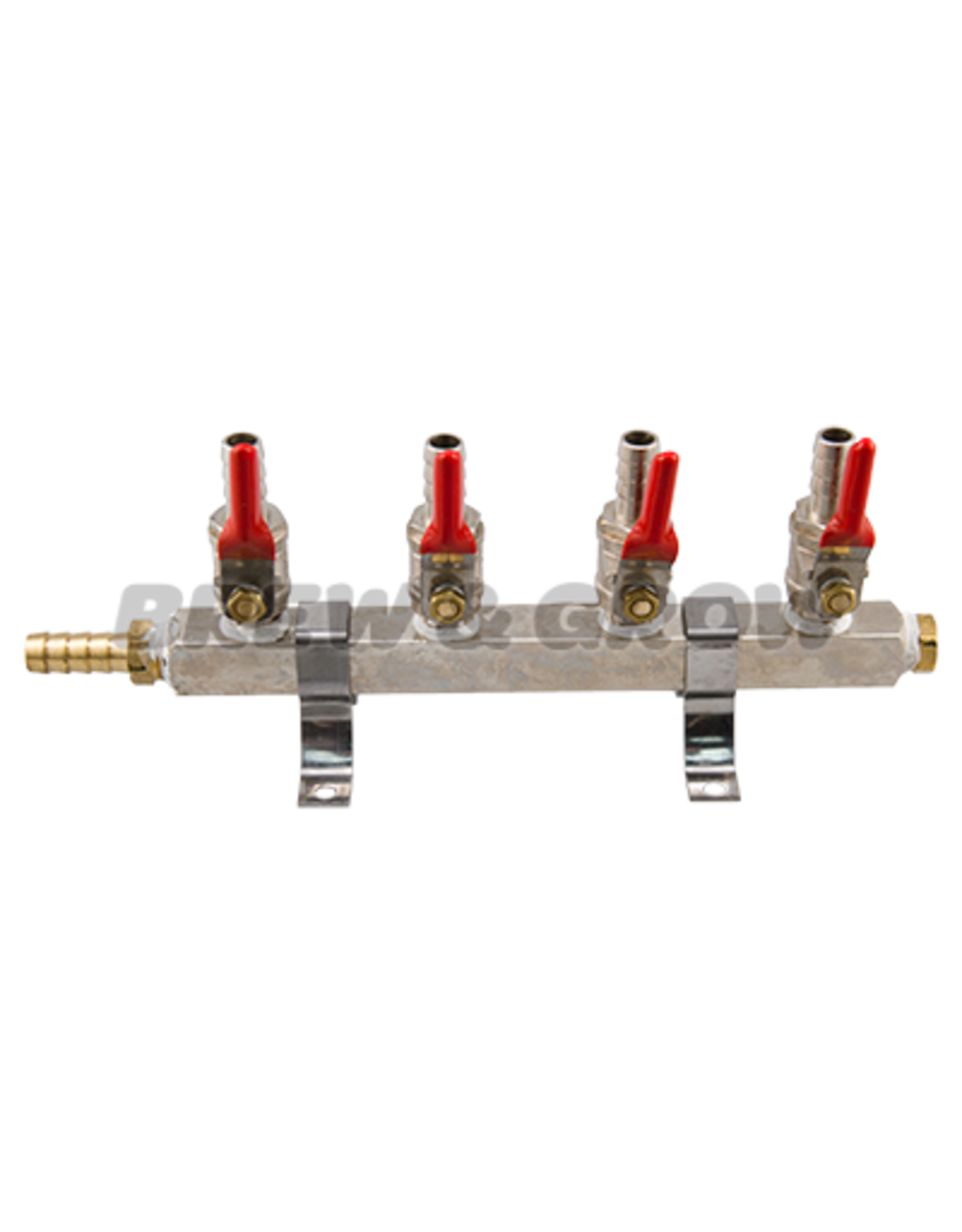 "Air Distributor - 4-Way w/ 5/16"" Barb"