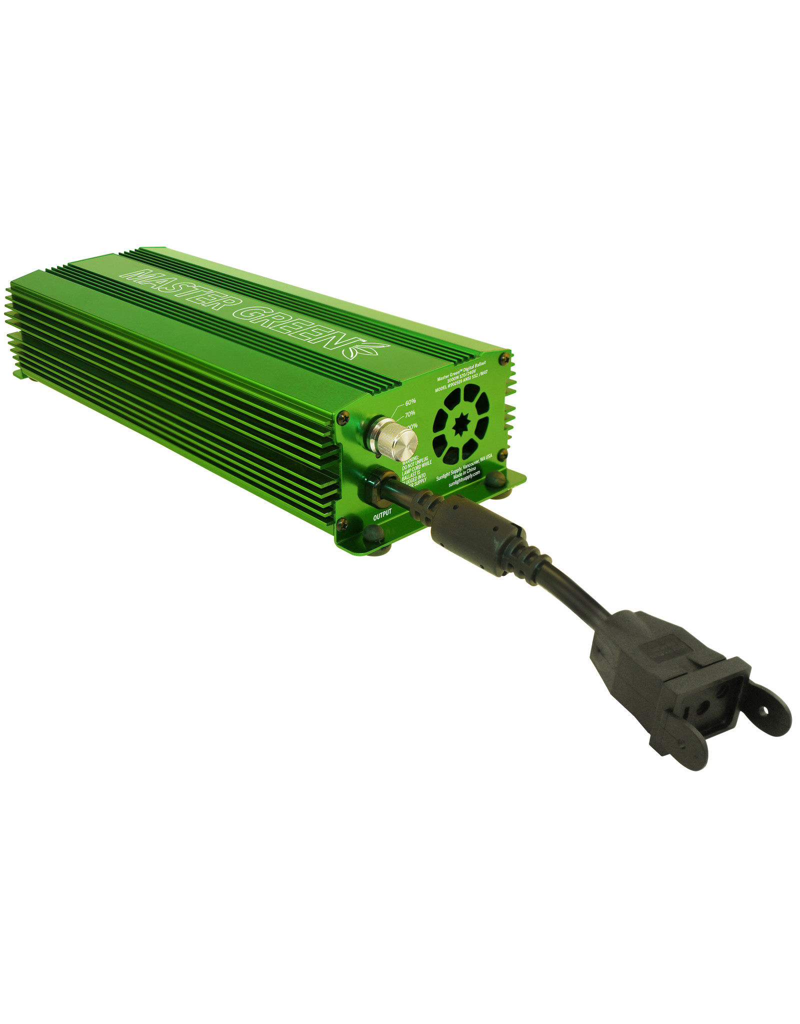Galaxy Master Green Electronic Ballast 1000 Watt