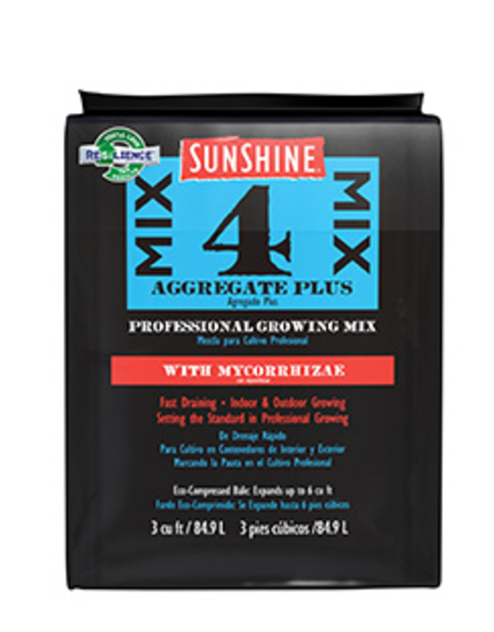 Sunshine Mix#4 W/ Mycorrhizae- 3.0 Cu/Ft