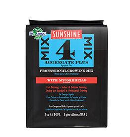 Sunshine Mix#4 W/ Mycorrhizae- 3.0 Cu/Ft Comp