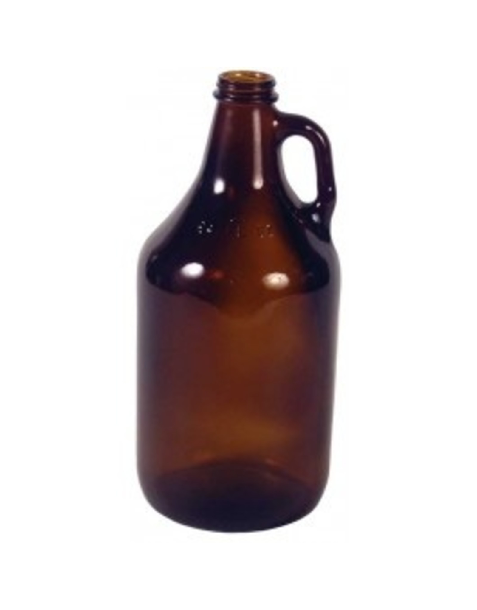Jug - 1/2 Gal Amber Glass (Case/6)