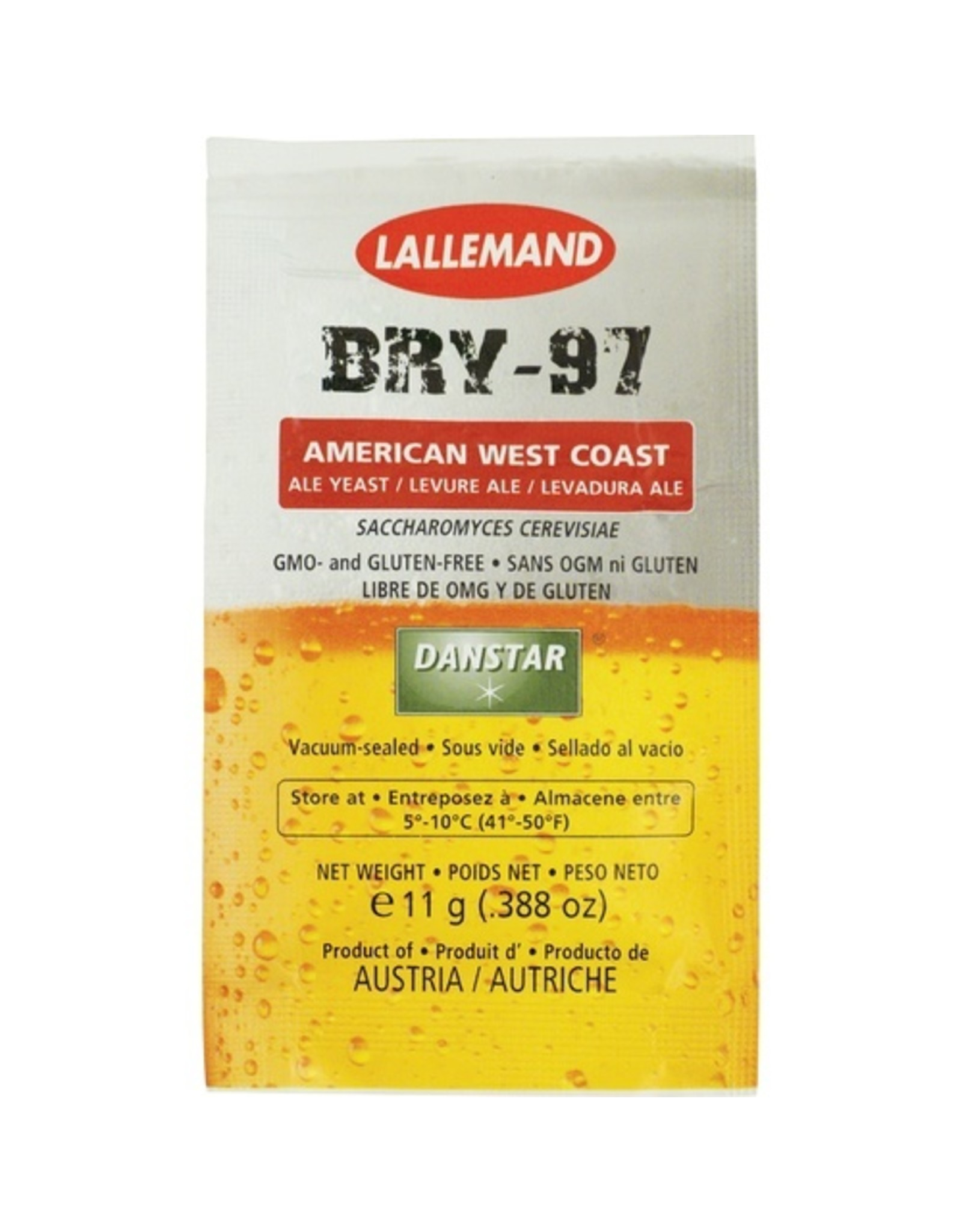 Lallemand BRY-97 West Coast Ale Yeast 11g