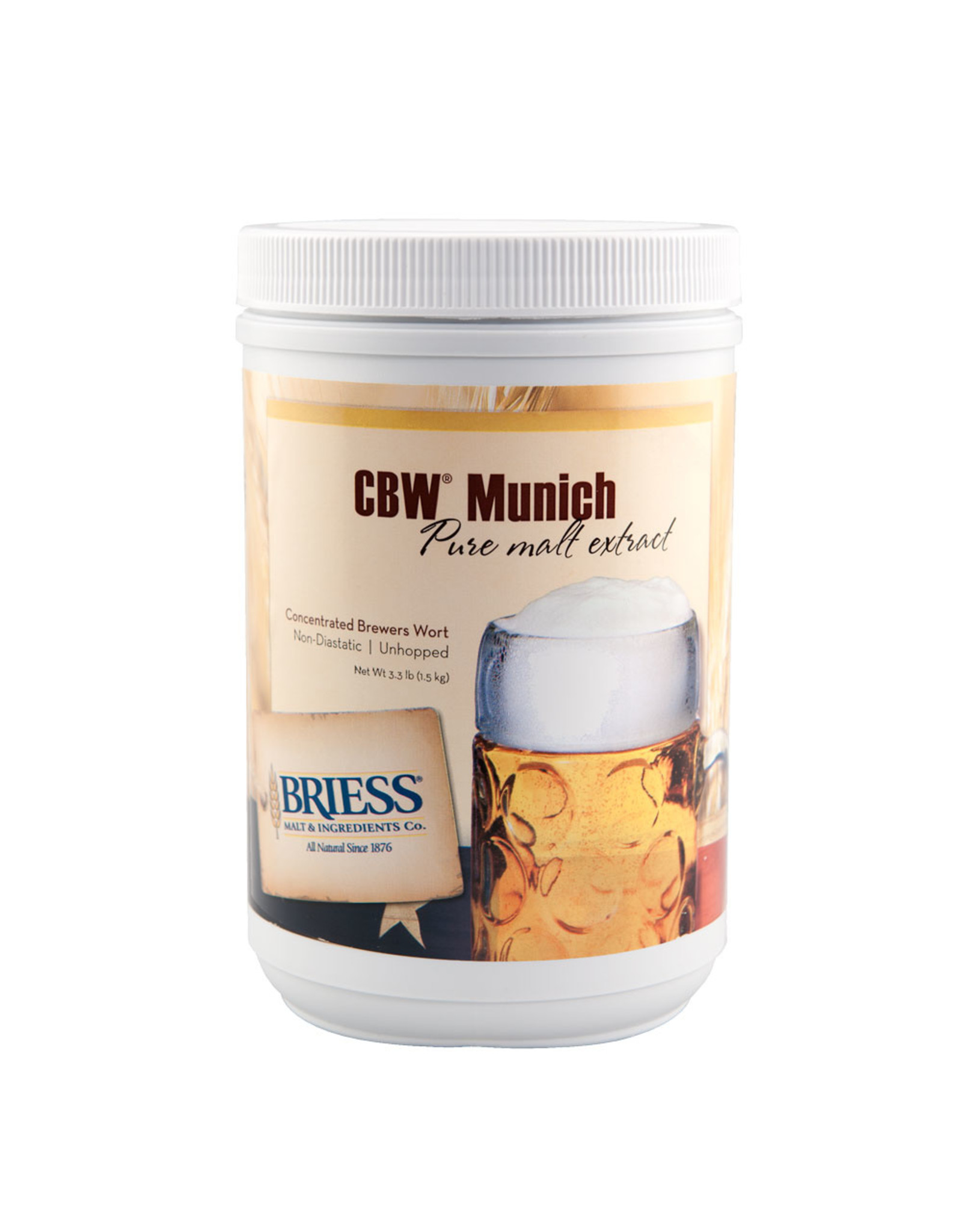 Briess Munich Malt 3.3 lb Can