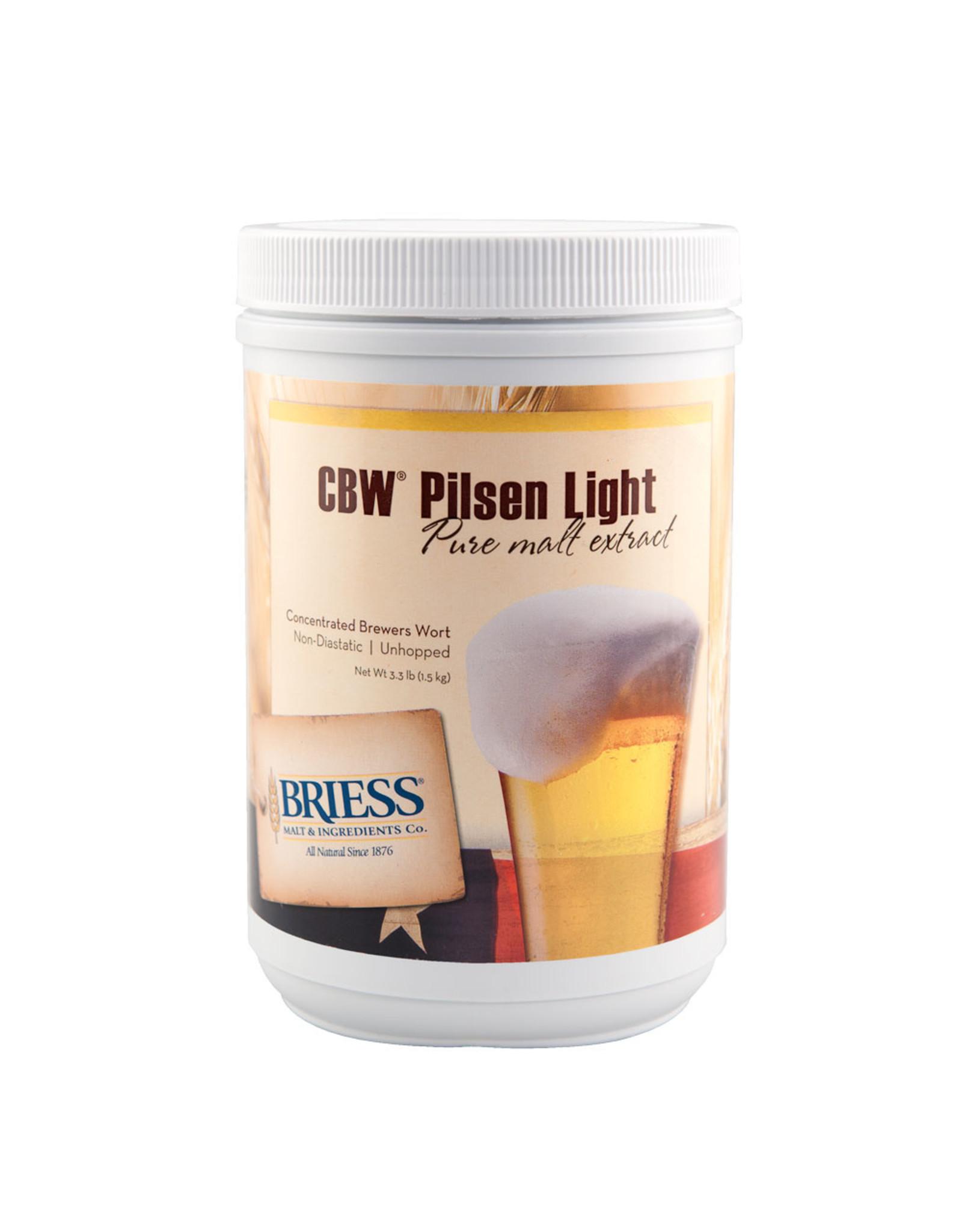 Briess Pilsen Light Malt 3.3 lb Can