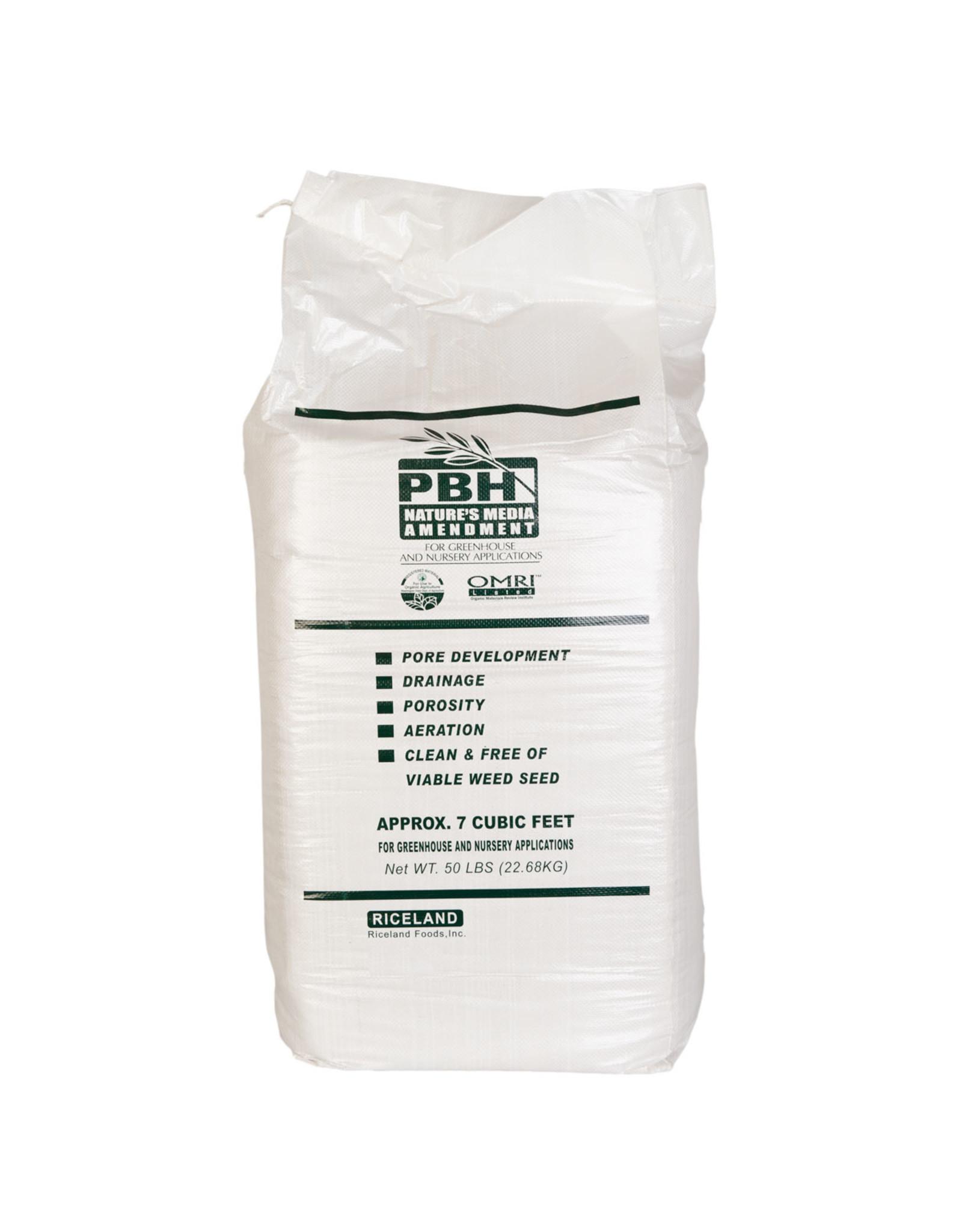 Rice Hulls - 50 lb