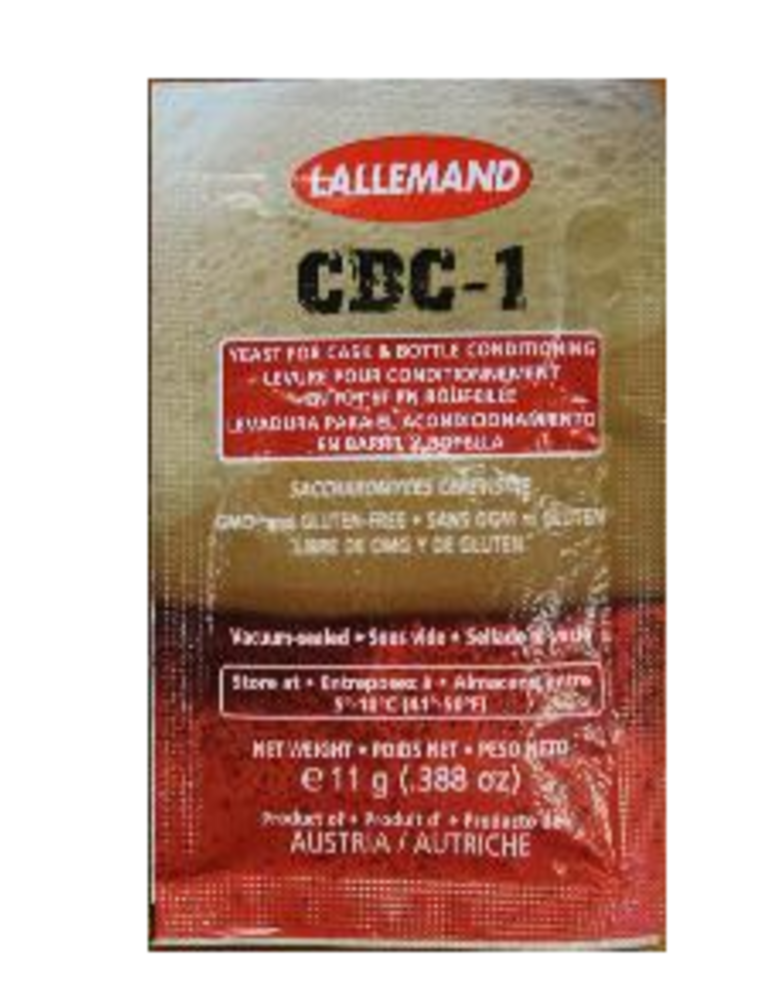 Lallemand CBC-1 Cask & Bottle Cond Yeast 11g