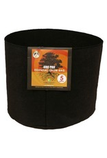 Gro Pro Gro Pro Essential Round Fabric Pot - Black 5 Gallon