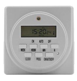 Timer 120V Dual Outlet Digital 15 Amp